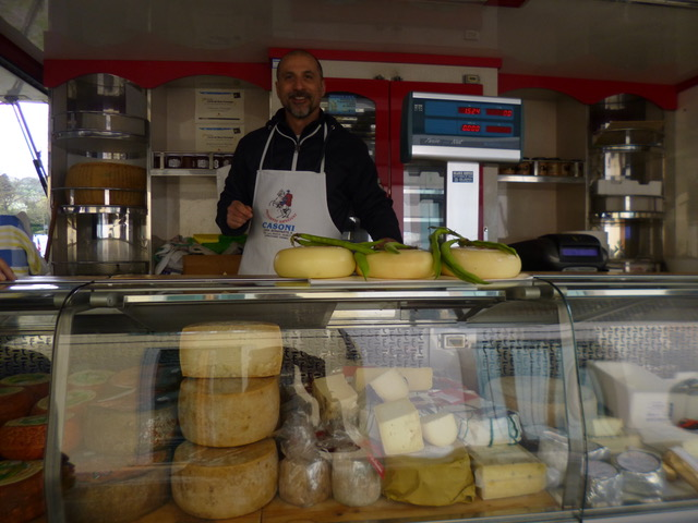 Our favourite cheese man sells burrata, amazing goat, freshest Parmigiano and the best varieties of pecorino among many more...
