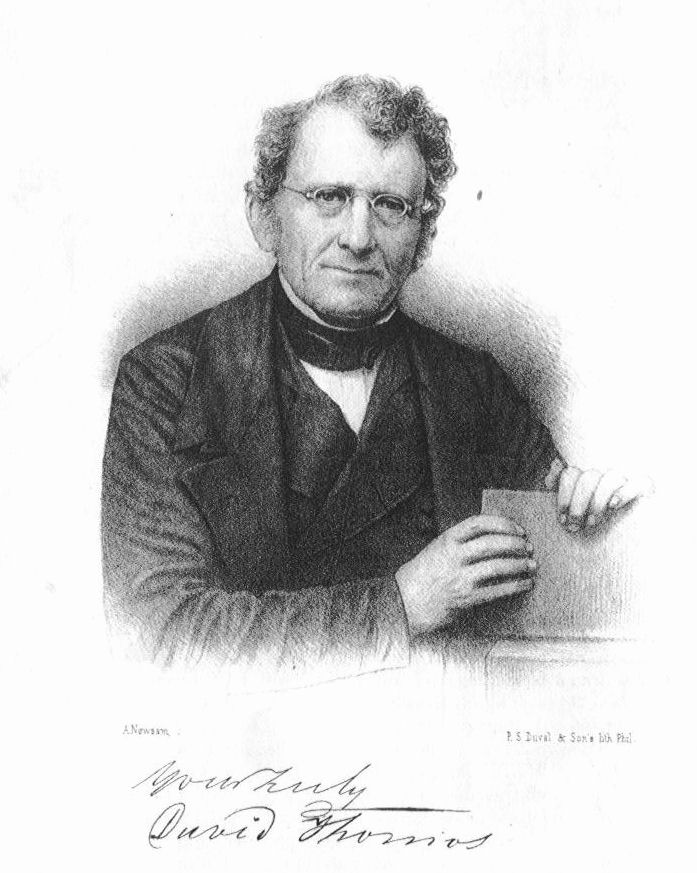 Presbyterian Church of Catasauqua founder David Thomas
