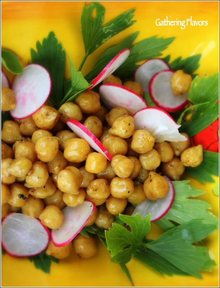 Spiced Chickpeas & Veggies