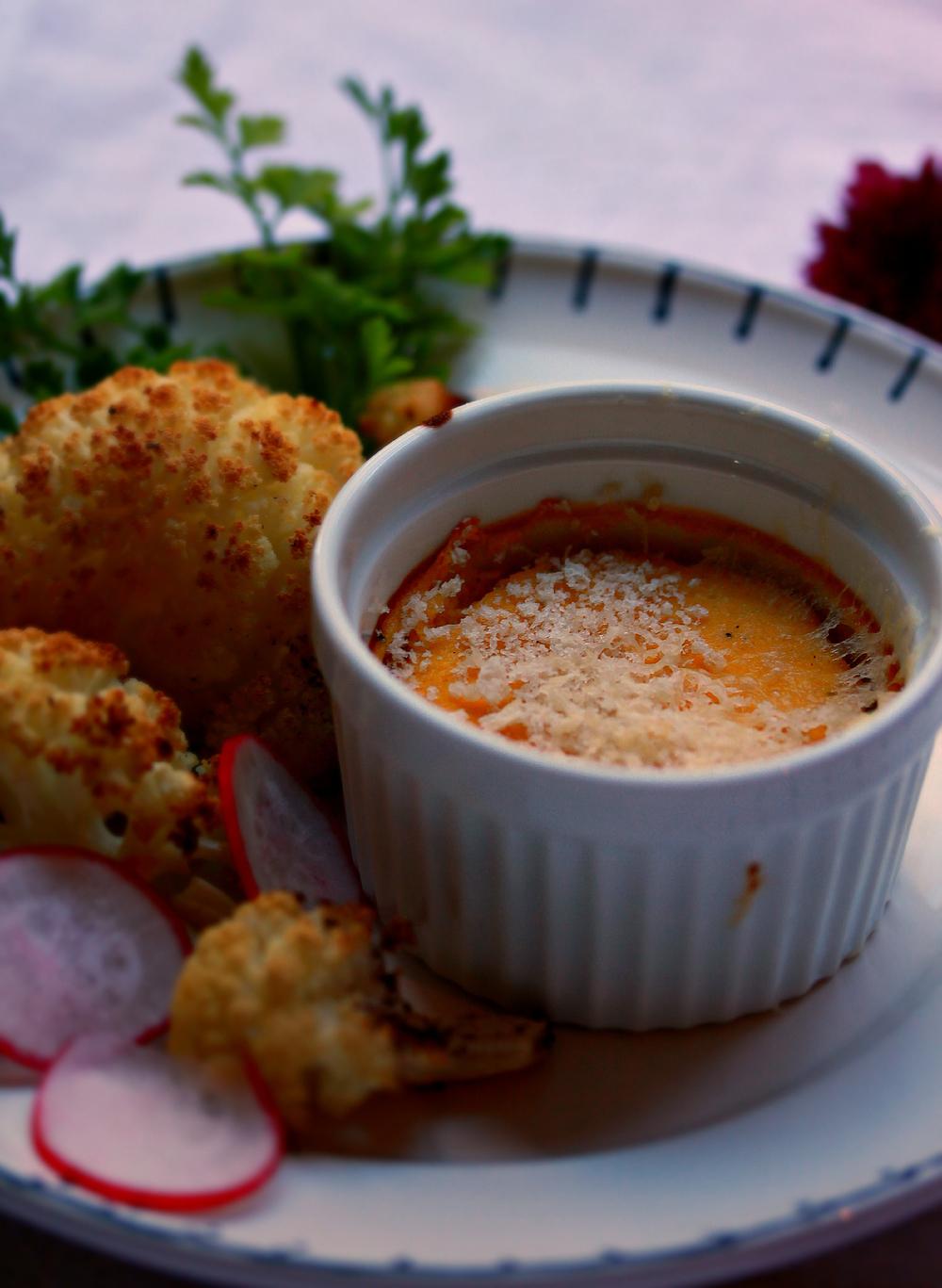 ©Squash Gratin with Cauliflower by Dena T Bray