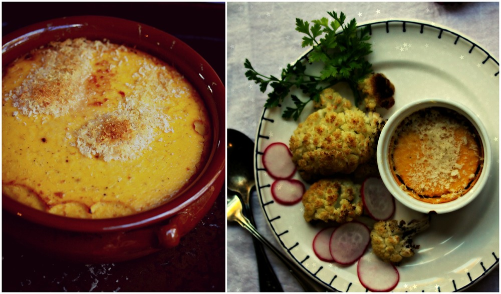 Butternut Squash Gratin Collage by Dena T Bray