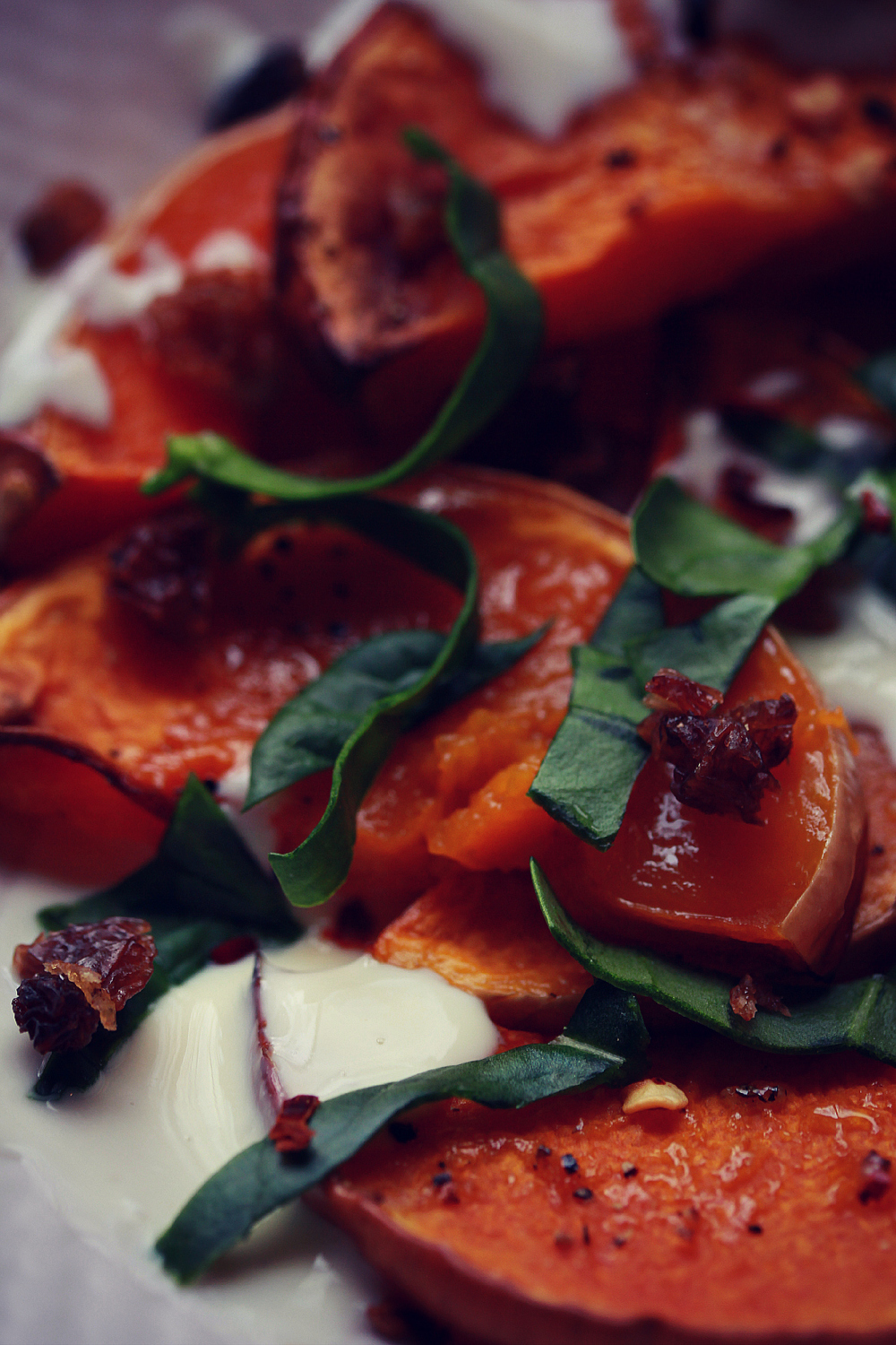 ©Roasted Butternut Squash Wedges by Dena T Bray