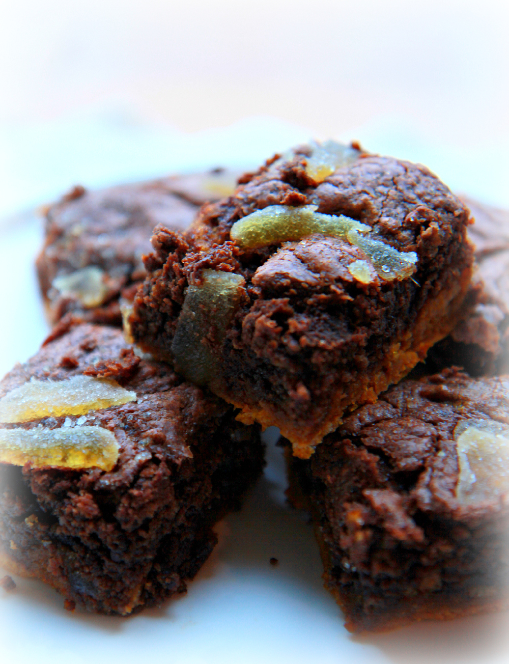 ©Pumpkin Swirl Brownies by Dena T Bray