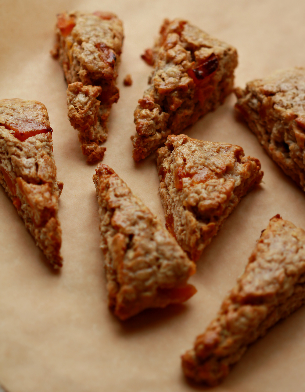 ©Oatmeal & Apricot Scones by Dena T Bray