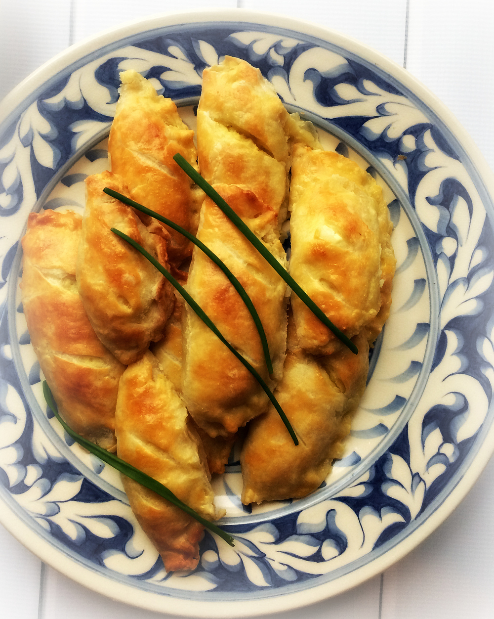 Savory Cheese Turnovers