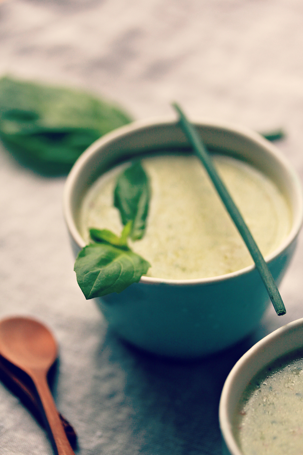 ©Cold Cucumber and Yogurt Soup by Dena T Bray