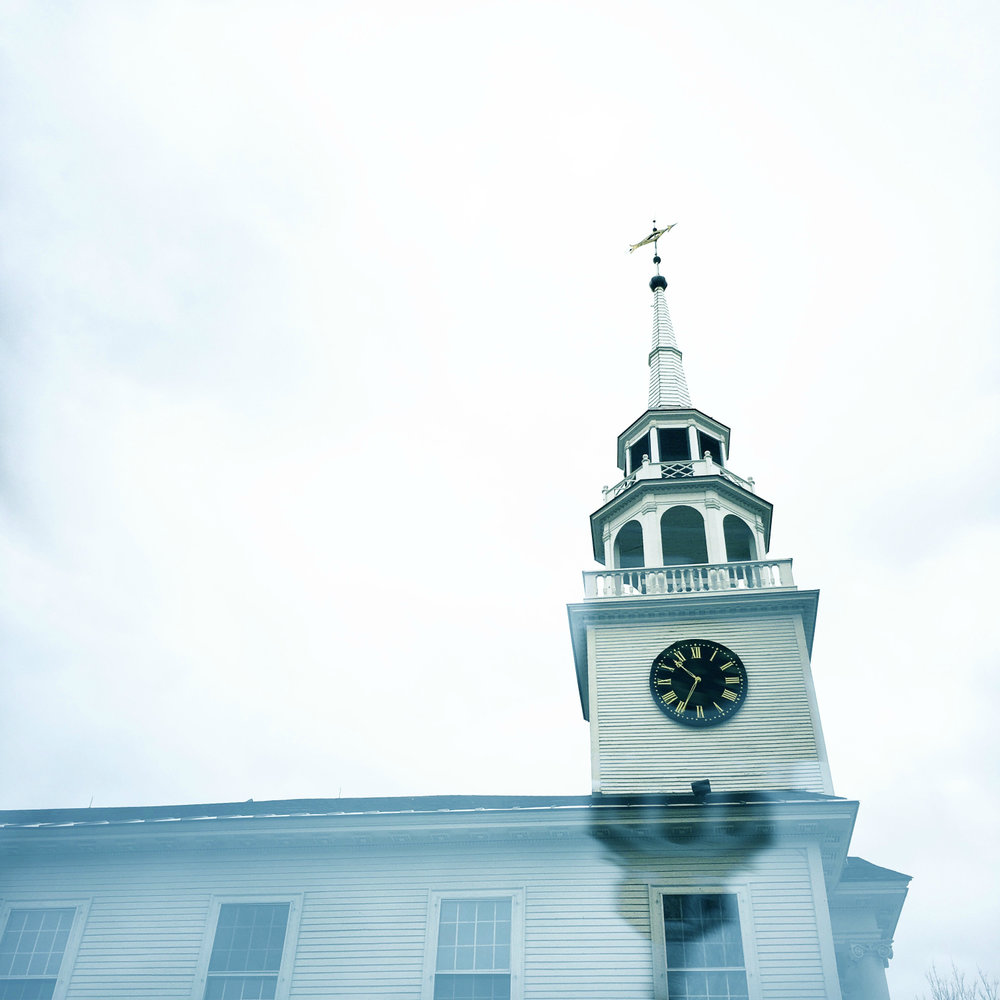 ©Church, Norwich Vermont by Dena  T Bray