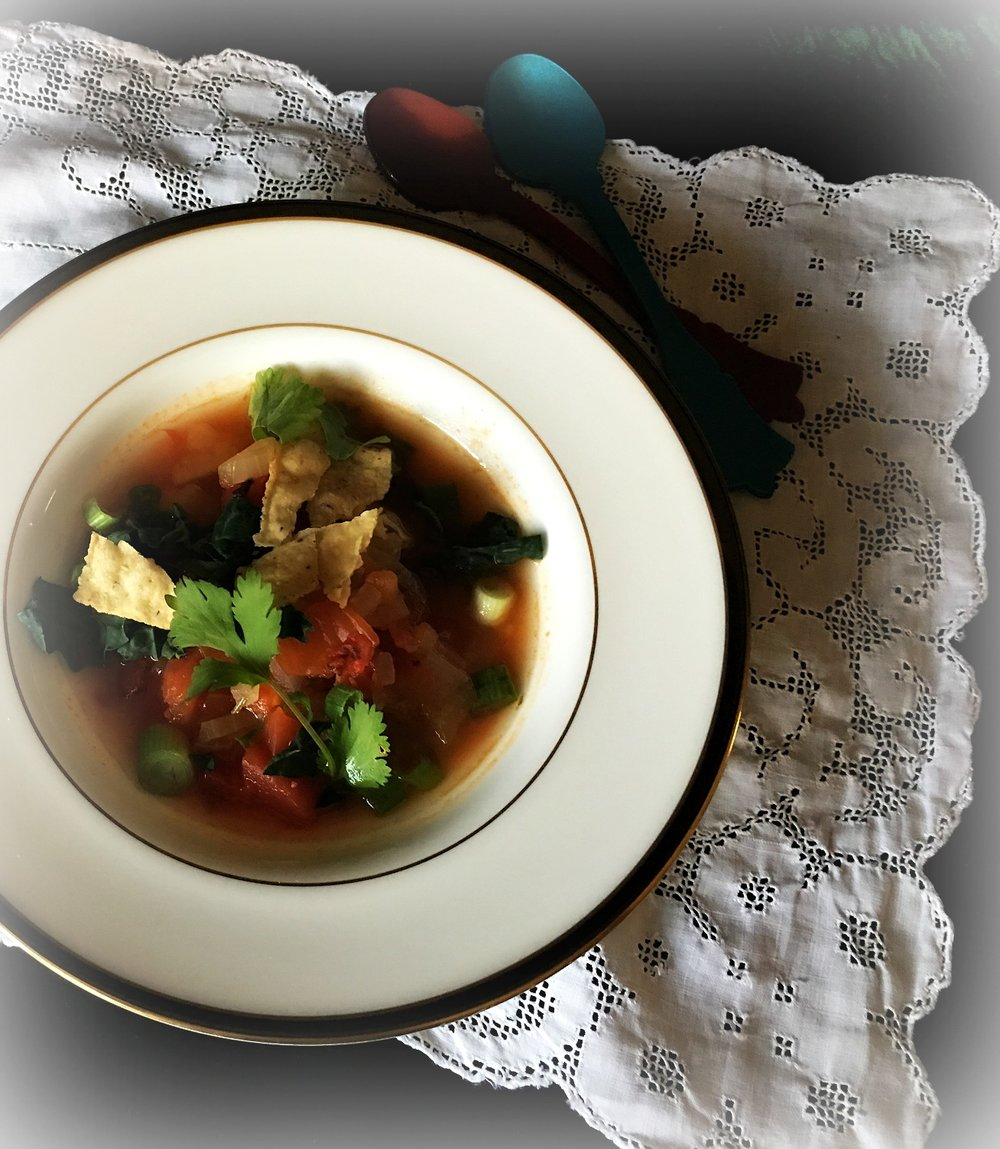 ©Harvest Tortilla Soup by Dena T Bray