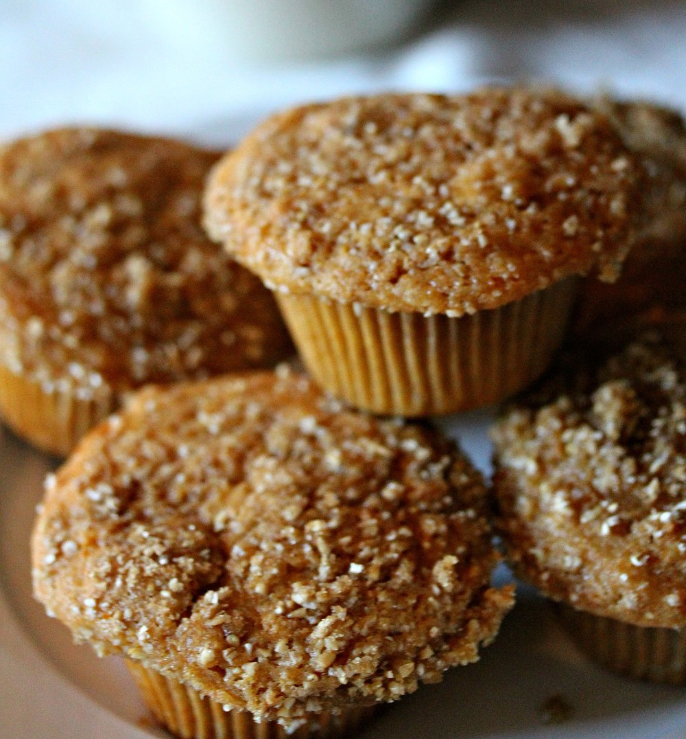 ©Sweet Potato Muffins by Dena T Bray