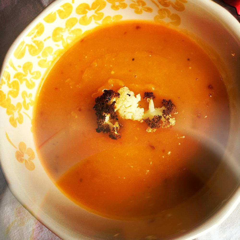 ©Butternut Squash Soup By Dena T Bray