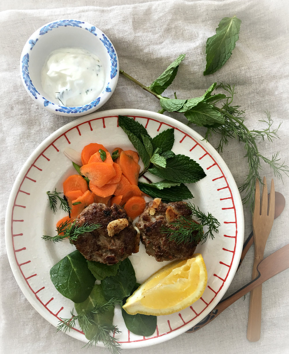 ©Lamb Patties on Plate by Dena T Bray.jpg