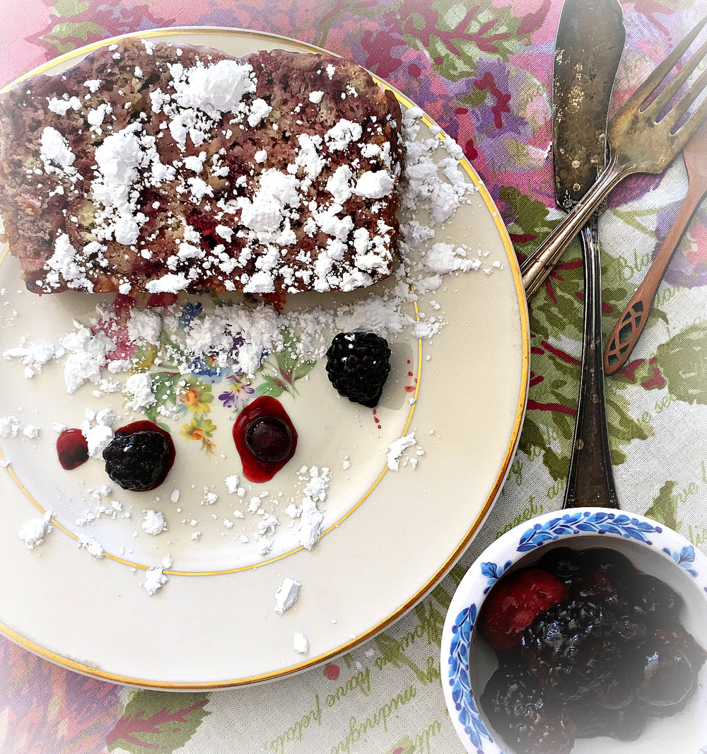 ©Mixed Berry and Yogurt Cake by Dena T Bray