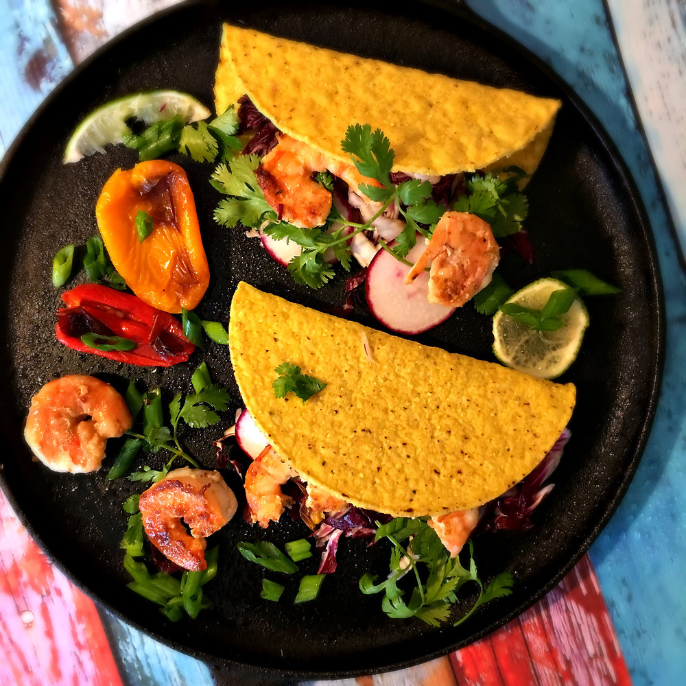 ©Seafood Tacos by Dena T Bray