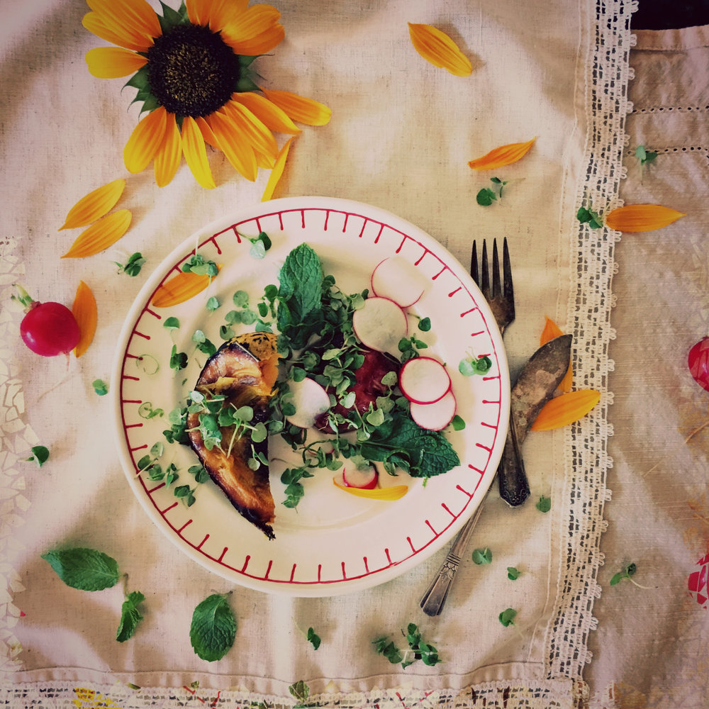©Acorn Squash Salad by Dena T Bray