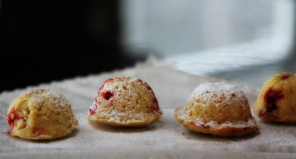 ©Four Strawberry Lemon  Muffins by Dena T Bray.jpg