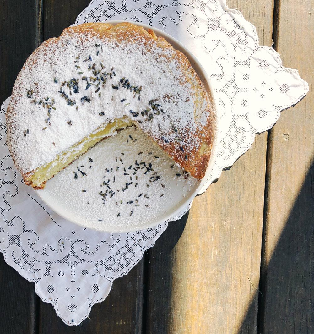 ©Lemon & Lavendar Cake In Sunlight by Dena T Bray.jpg