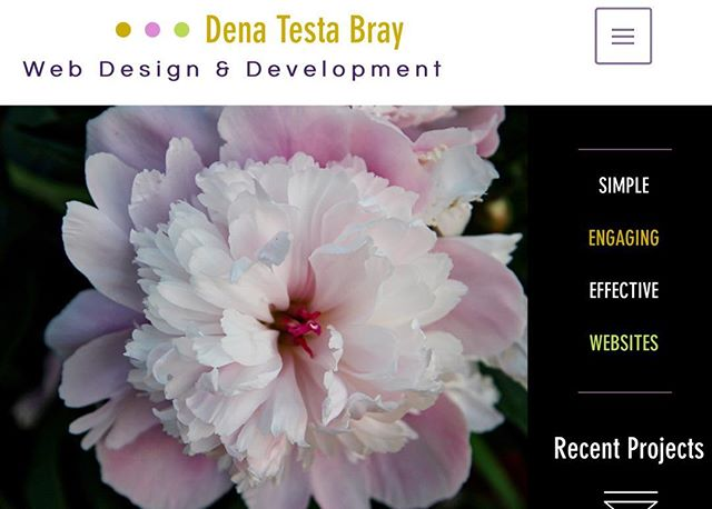 Let's create your place on the web. #webdesign #denatestabray.net After a bit of a break, I am energized for new clients.