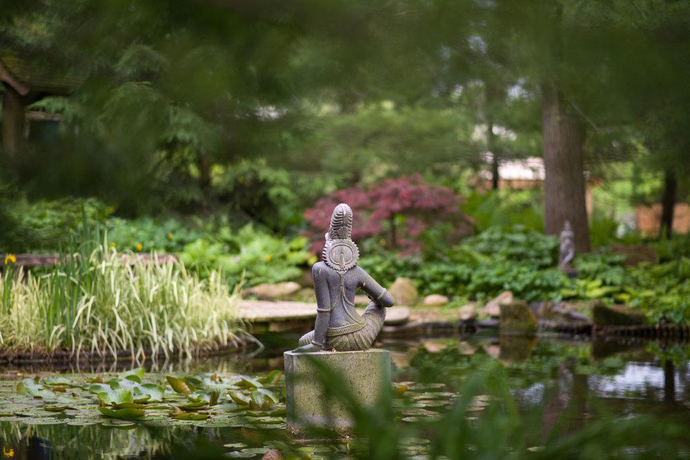 Prajnaparamita, goddess of non-dual meditation wisdom.