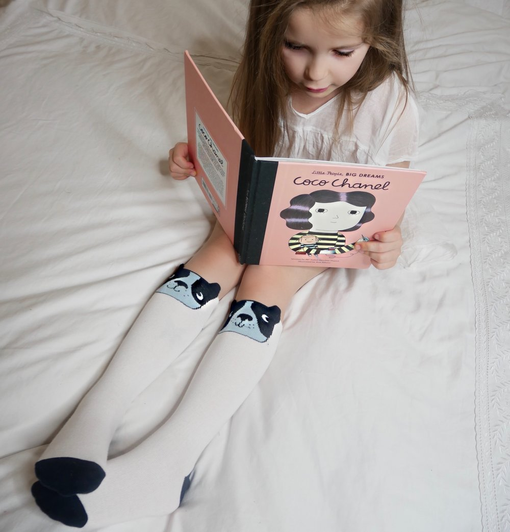 EllaMay is wearing socks by Tiny Cottons. Unfortunately these are now sold out, but there is more Tiny Cottons goodness to explore >here<