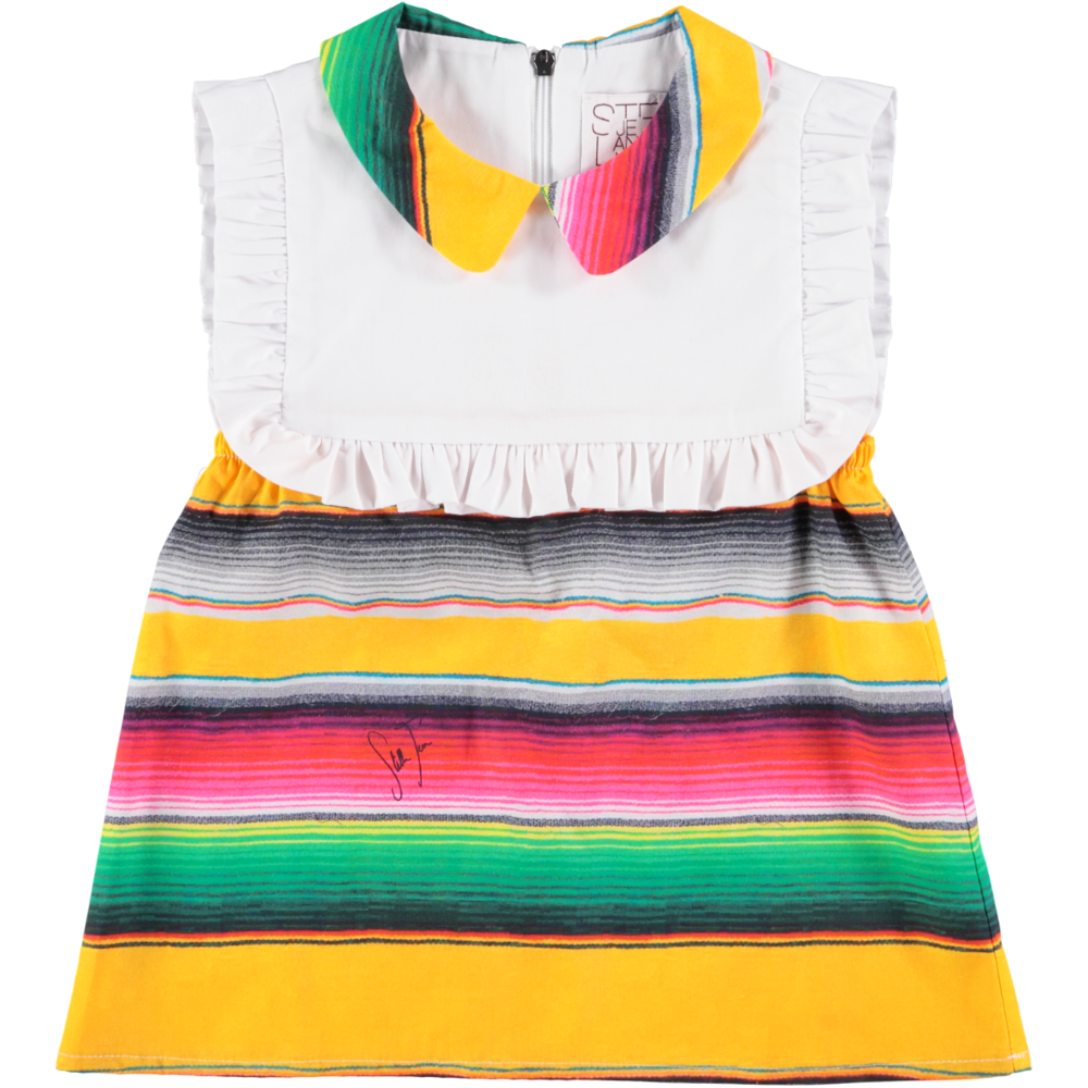 'Pegaso' Stripe Dress