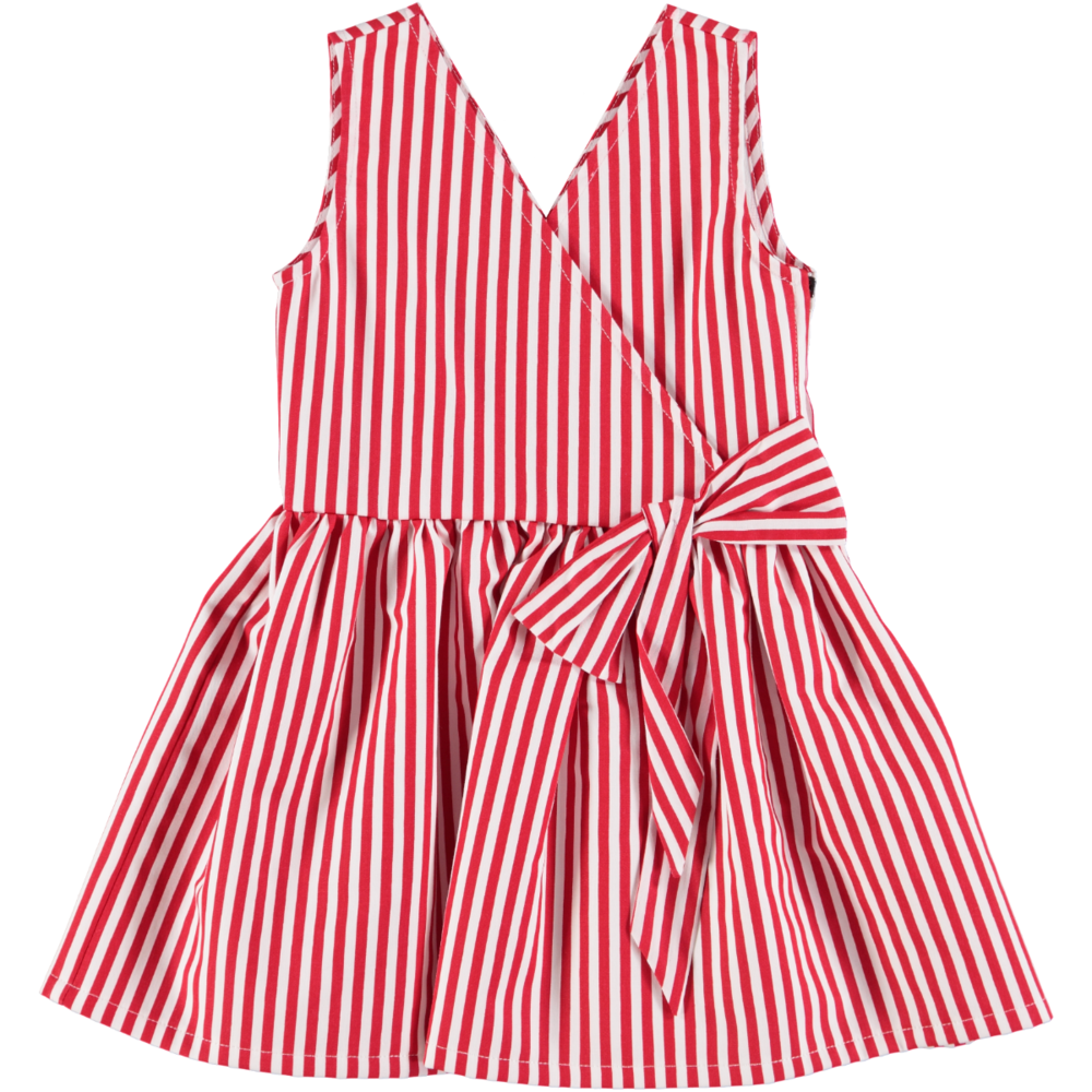 'Pianetario' Striped Dress