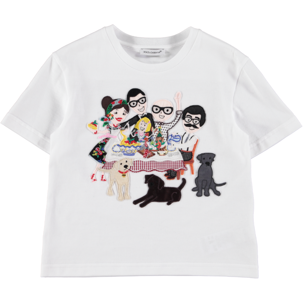 T-Shirt by Dolce and Gabbana