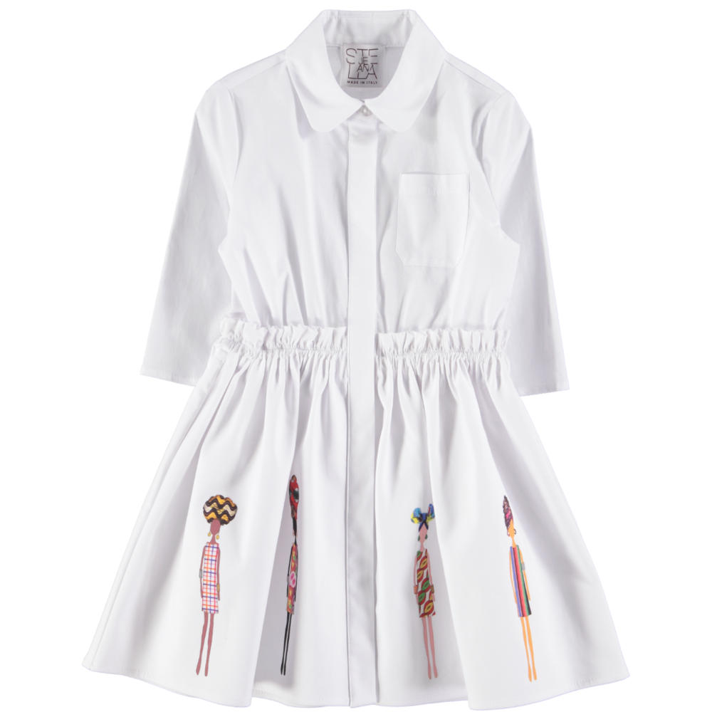 Shirt Dress by Stella Jean