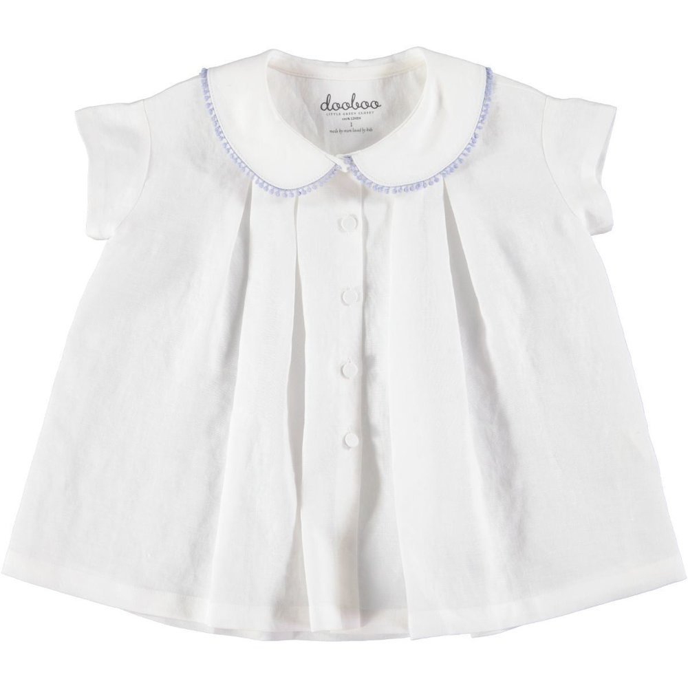 'Vicky' Peter Pan Collar Blouse