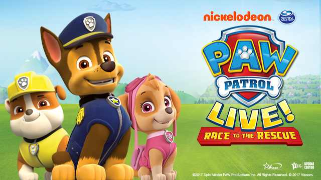 Paw Patrol   These guys are far too cute to miss. If your kids watch Paw Patrol on Nickelodeon, this is a must-see. The show will be held at the Barclaycard Arena, the largest indoor arena in the UK. We're not exaggerating, it is huge! The tickets are currently on sale  here