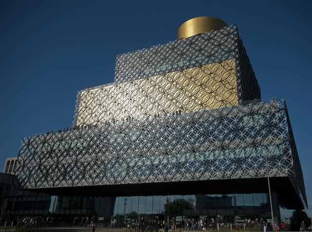 The Library of Birmingham   The building itself is architecturally exquisite and also if you want to have a more chilled-out day, visit the Children's Library on the lower level. Keep those brains active, plus peace and quiet? Yes please.
