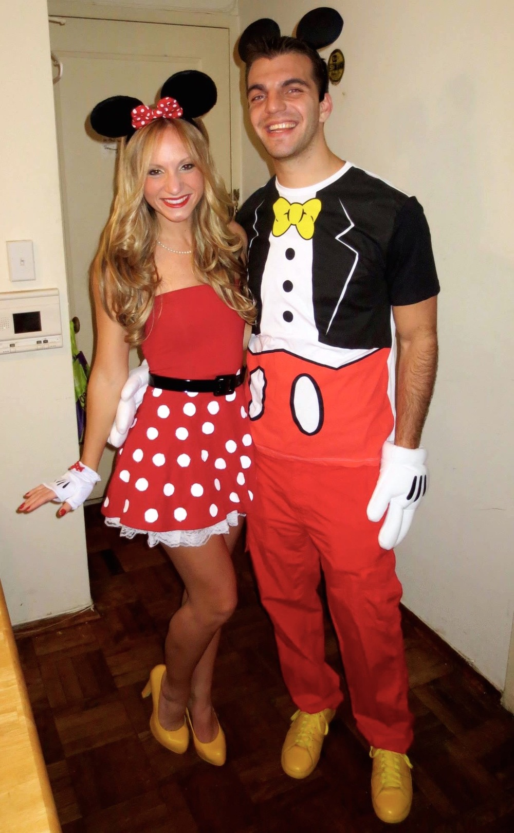 mickey and minnie costume diy  sc 1 st  I Think Therefore I Dress & The Halloween Edition: Five DIY Costumes Ideas u2014 I Think Therefore ...