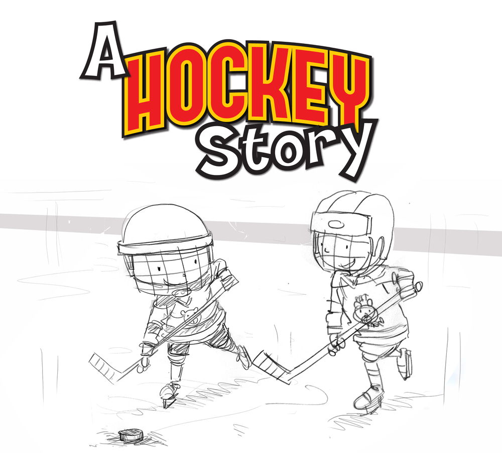 A Hockey Story cover sketch 3