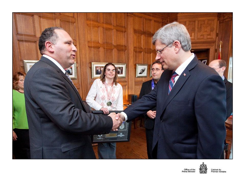 Rosenzweig partner Neil Glasberg meets with Prime Minister regarding Special Olympics
