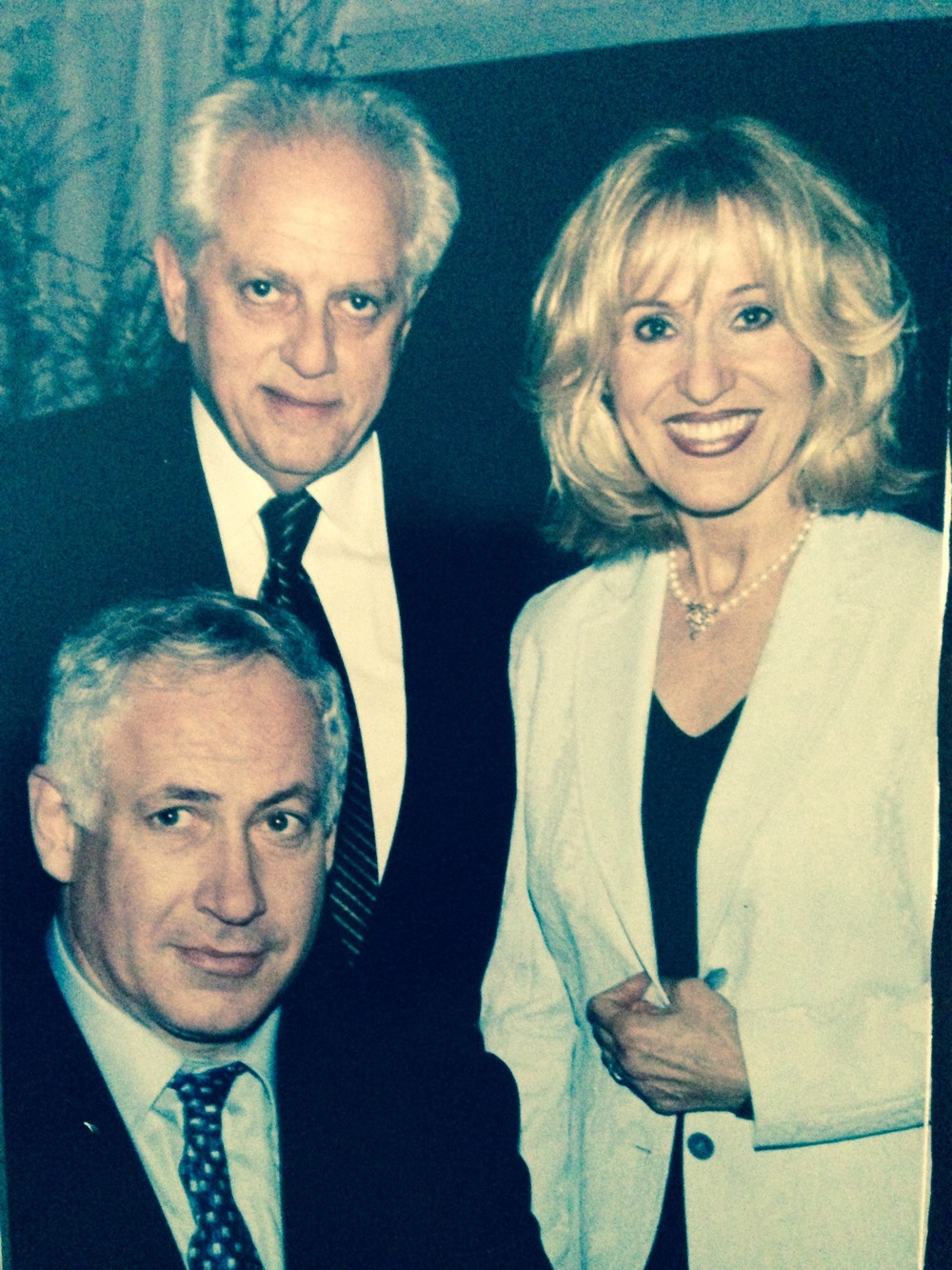 Benjamin Netanyahu With Rosenzweig & Company Advisors Stanley and Helen Cons