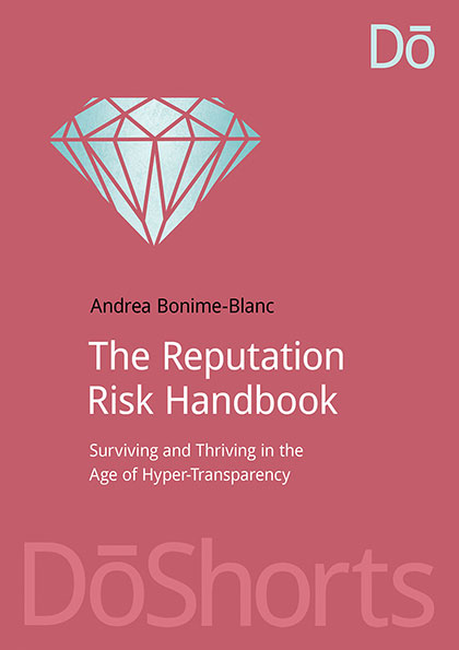 THE REPUTATION RISK HANDBOOK