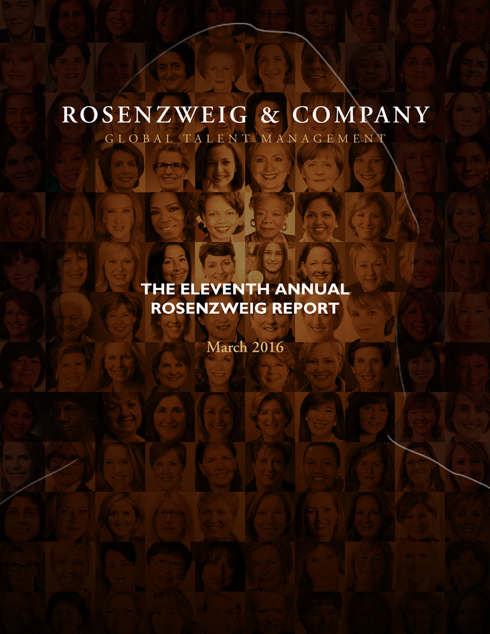 The Annual Rosenzweig Report on Women at the Top Levels of Corporate Canada looks at the 100 largest publicly-traded companies in Canada, based on revenue, and examines how many of the top-paid leadership roles are held by women.
