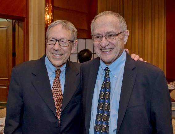 Irwin Cotler and Alan Dershowitz