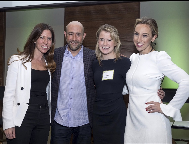 Pictured left to right: Candice Factor, Jay Rosenzweig, Rose Duggan and Jodi Kovitz