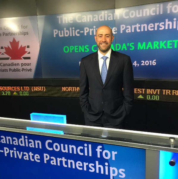 Jay rosenzweig Looking forward to opening Canada's Market with the Canadian Council for Public-Private Partnerships