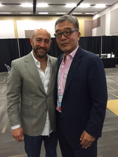 20170220 Jay Rosenzweig with James Chen, founder of international eye-care initiative Clearly.jpg