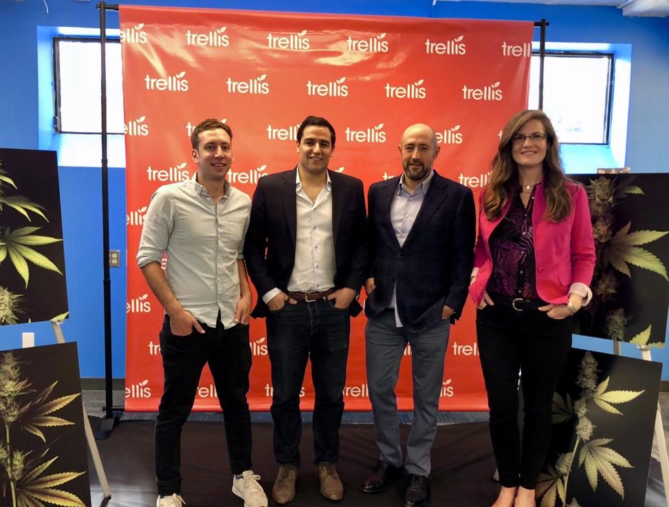RCI - Alex Blumenstein, Matt Shalhoub, Jay Rosenzweig and Rachel Colic Judging GrowUp Cannabis Hackathon 20180913.jpg