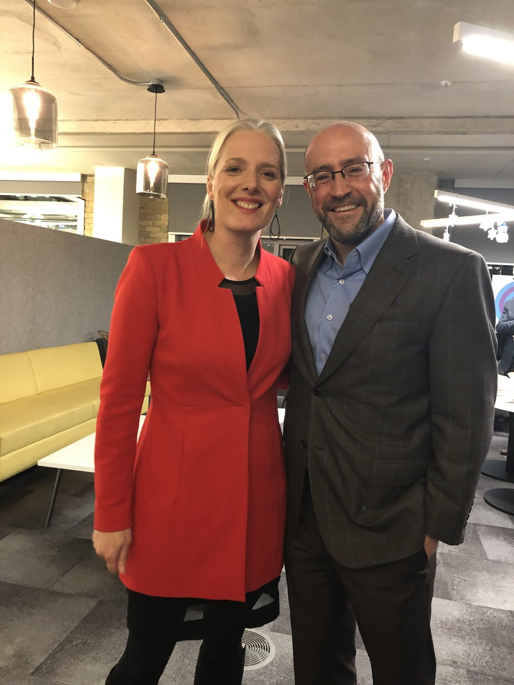 Jay Rosenzweig & The Honourable Catherine McKenna, Canadian Minister of Environment and Climate Change