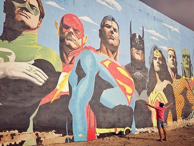 #fuerteventura #superheroes #happy #holidays #canarias #sun #summer #yolotenerife