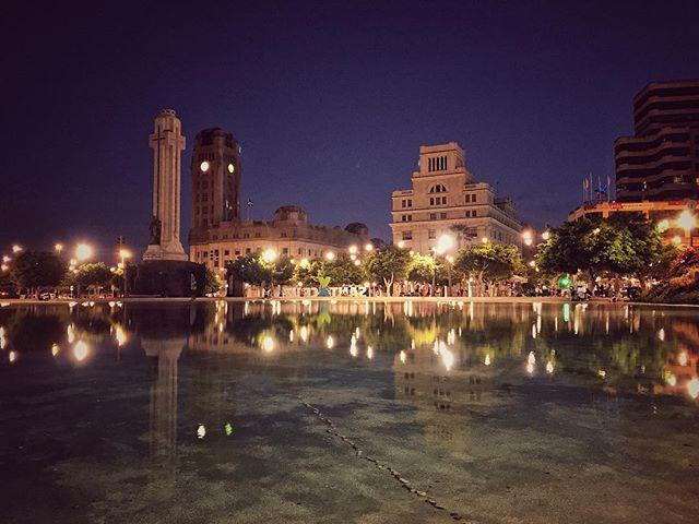 #santacruz #nighttime #view #tenerife #holidays #realestate #yolotenerife