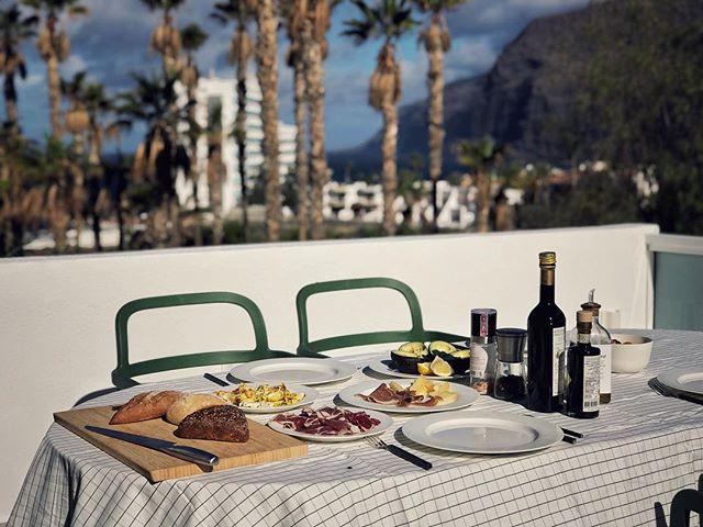 #perfect #breakfast #tenerife #losgigantes #yoloestate #yolotenerife