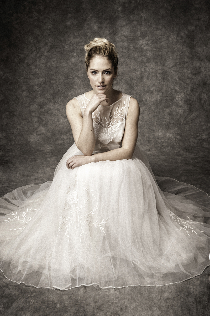 1950s soft tulle vintage ballerina dress