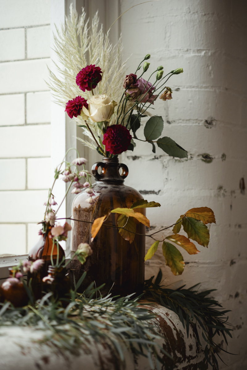 vintage wedding styling inspiration shoot - modern boho bridal ireland
