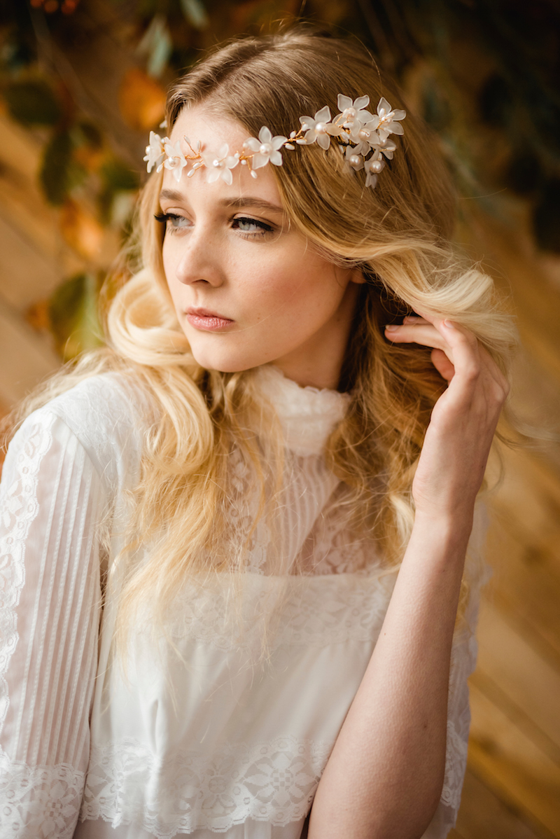 1970s vintage inspired modern boho bridal - vintage wedding dresses ireland from archive 12