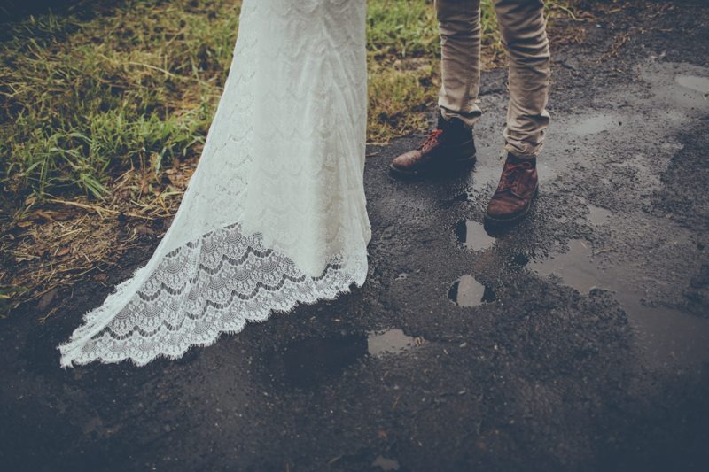 CROCHET LACE -bohemian wedding dresses