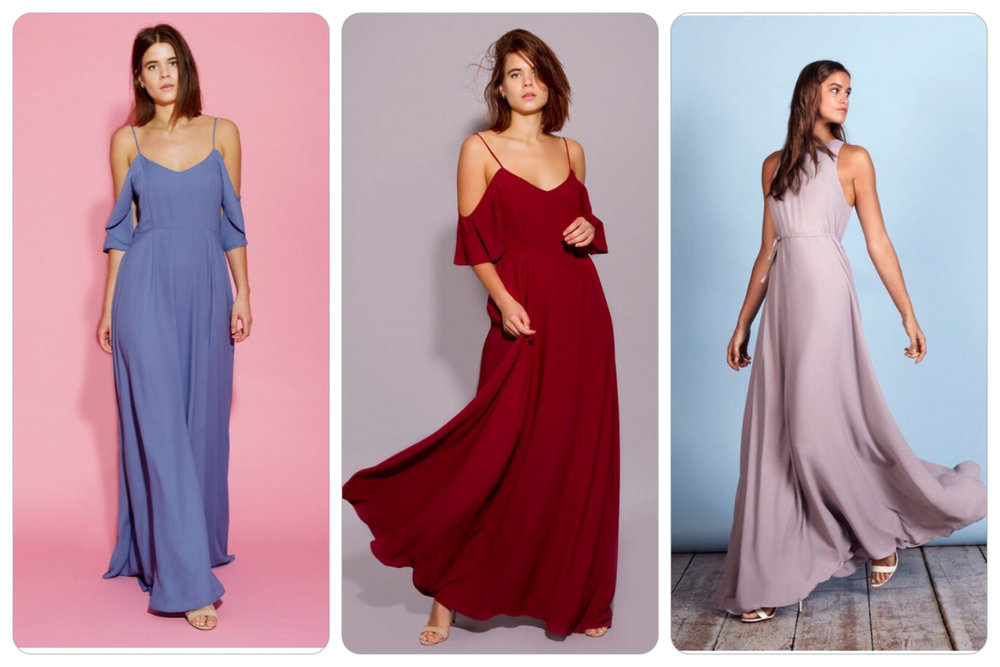 REWRITTEN BRIDESMAID DRESSES